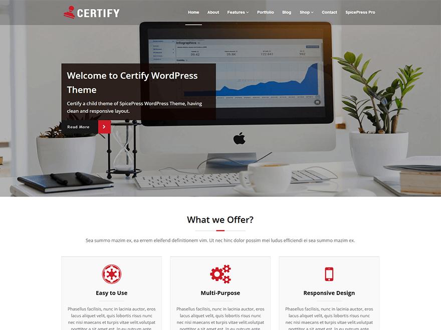 網站開發 _ Certify