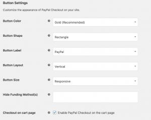 ppec button settings